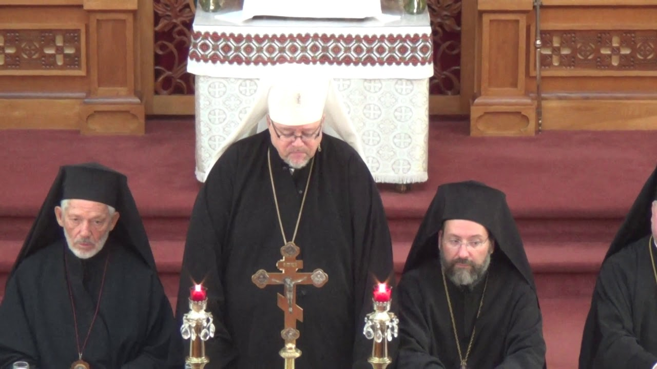 Ukrainian Orthodox Church of Canada SOBOR Opening 2018