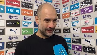 Guardiola delighted with his team's mentality after back-to-back wins