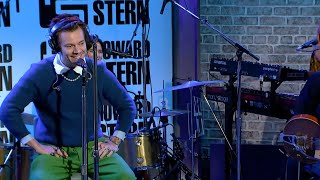 Harry Styles Adore You Live on the Howard Stern Show