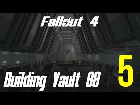 Fallout 4 Let's Play Building Vault 88 Atrium 5 Residential