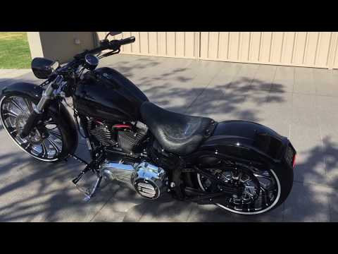 custom harley davidson fxsb breakout youtube. Black Bedroom Furniture Sets. Home Design Ideas