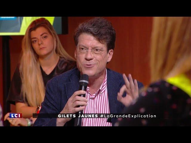Laurent Alexandre lors du débat