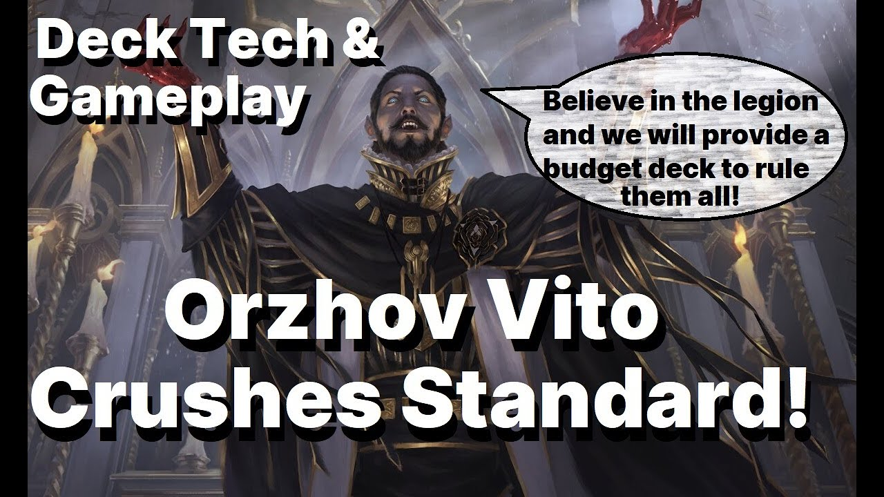 Orzhov Vito Combo Deck Tech And Gameplay Youtube Popular themes for orzhov orzhov mana staples. orzhov vito combo deck tech and gameplay