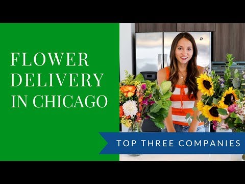 Top Three Flower Delivery Services In Chicago