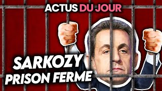 Prison pour Sarkozy condamné pour corruption, Trump is back, 30K stages dispos.. Actus du jour