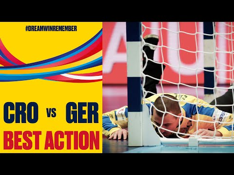 Game-winning Save By Marin Sego Against Germany | Day 10 | Men's EHF EURO 2020
