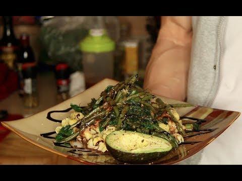 Vegan Recipe | Quinoa Pasta & Greens