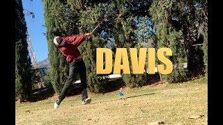 DAVIS' GREAT SWING!