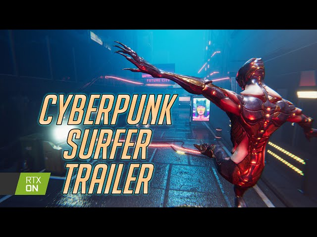 Cyberpunk Surfer (Prototype) Trailer - Download and Try for Free