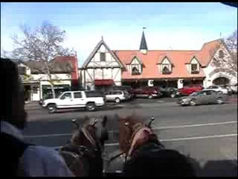 visiting solvang a danish town in california christmas day 2006