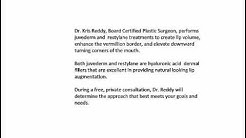 dr kris reddy reviews lip augmentation in west palm bea