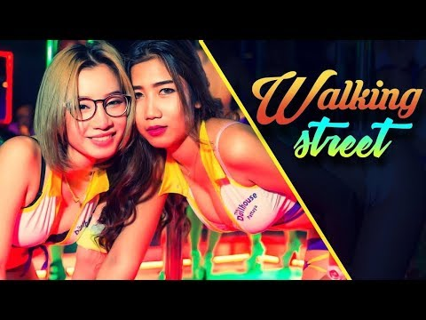 Walking Street Pattaya 2017 | Nasha Club | Pattaya Nightlife | Massage | Chinigiri