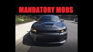 Best Mods For Your Scat Pack, Daytona or R/T Charger Challenger | MANDATORY
