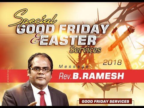AFT Bengaluru Live Stream -Special Good Friday Tamil Service by Rev B.Ramesh