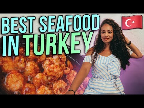 TURKEY - BEST SEAFOOD IN THE WORLD! Turkish Travel Guide