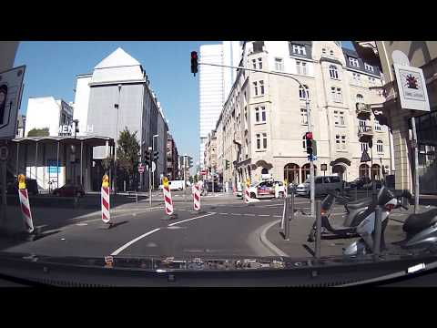 Driving Through Frankfurt Part 1
