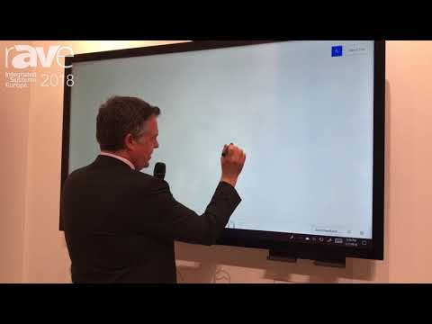 ISE 2018: Vestel Highlights P-CAP Interactive Flat Panel Displays for Meeting Room Solutions