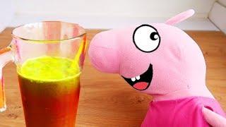 Реальная Жизнь Свинки Пиги #3 сезон 2 – Самый противный сок в мире