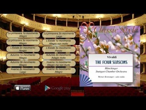 Vivaldi The Four Season -Le quattro Stagioni  Full Album Completo