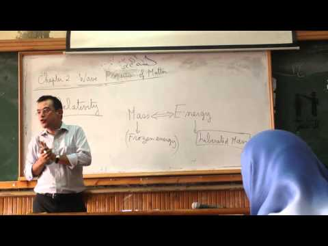 Modern Physics 5th Lecture ASU Faculty of Engineering 2013-2014