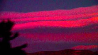 Noctilucent Electric Strange : Sky Life Unusual Clouds Luminous Formations Orbs Nano Particles