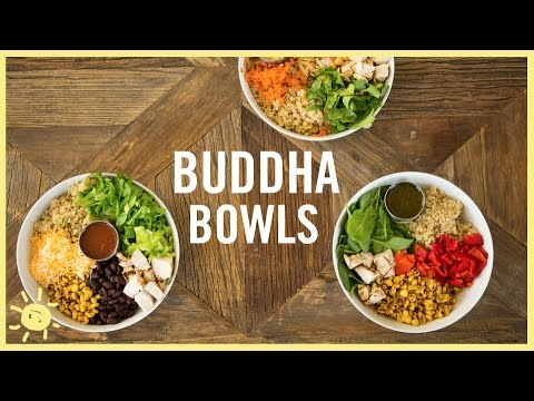 eat buddha bowls 3 ways youtube. Black Bedroom Furniture Sets. Home Design Ideas