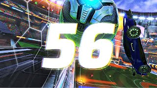 ROCKET LEAGUE INSANITY 56 ! (BEST GOALS, LAMBORGHINI FREESTYLES, NO CAM CEILING SHUFFLES)