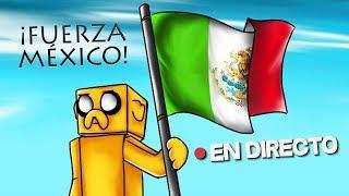 🔴 DIRECTO MINECRAFT #FUERZAMEXICO 🌎MARATÓN SOLIDARIA DE 6 HORAS #DIRECTOMIKE