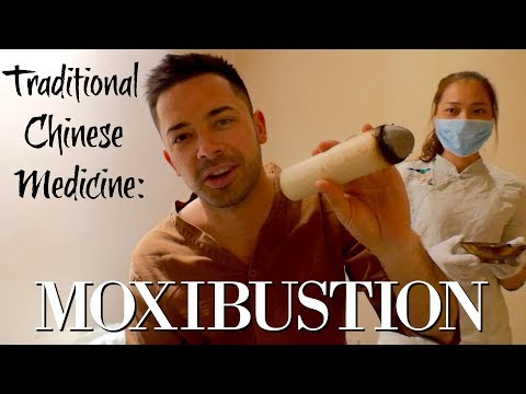 Traditional Chinese Medicine- Moxibustion Therapy