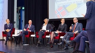 Panel discussion at Norwegian-Ukrainian ICT & Investment Conference, Oslo, Nov 11, 2015