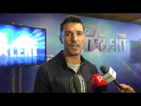 Jesús Vázquez presenta 'Got Talent España' (11 Febrero 2016).