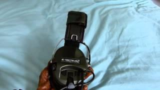 Z Tactical MSA Sordin Communications Headset ID9412