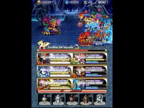 Brave Frontier : Trial 5 Zevalhua - One Squad