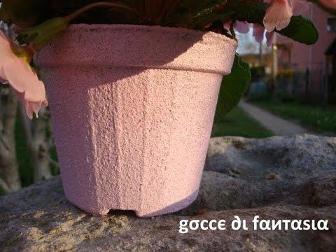 Tutorial: Vaso decorato con la sabbia
