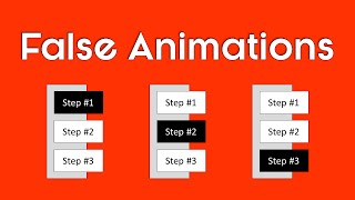 PowerPoint Animation Trick: Create a PPT Animation without Animations