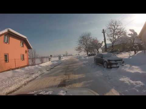 Winter ride Apoldu de Jos surroundings