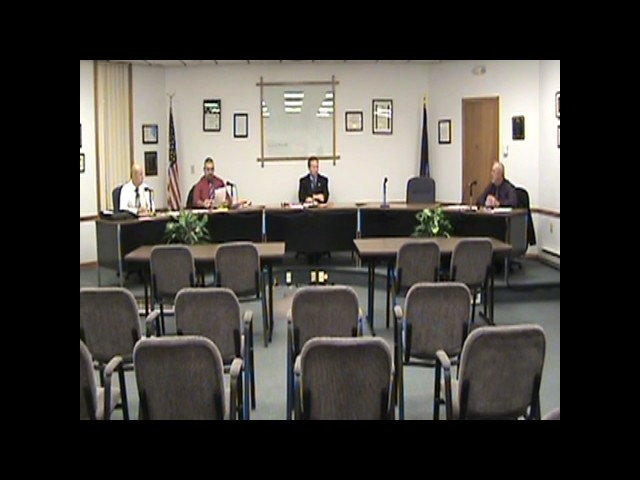Rouses Point Village Board Meeting  11-21-16