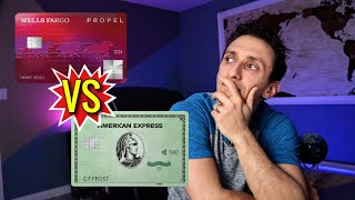 American Express Green Card Vs Wells Fargo Propel Amex Card | Which Is The Better Reward Credit Card