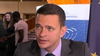 """PACE, Mediabox - Ilya Yashin on the report """"Putin. War"""""""