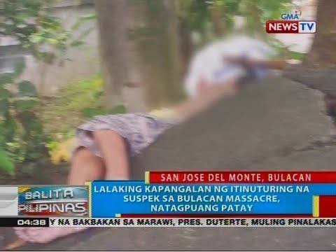 BP: Lalaking kapangalan ng itinuturing na suspek sa Bulacan massacre, natagpuang patay