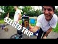 Szeged trip !!! Skatepark check & Bunnyhop 360 barspin contest !