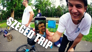 Szeged trip !!! Skatepark check & Bunnyhop 360 barspin contest !