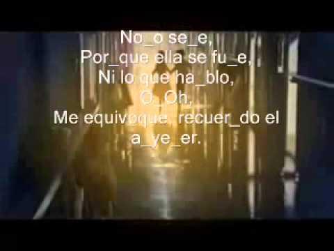 YESTERDAY   SOLO AYER   ESPANOL   BEATLES   LETRA