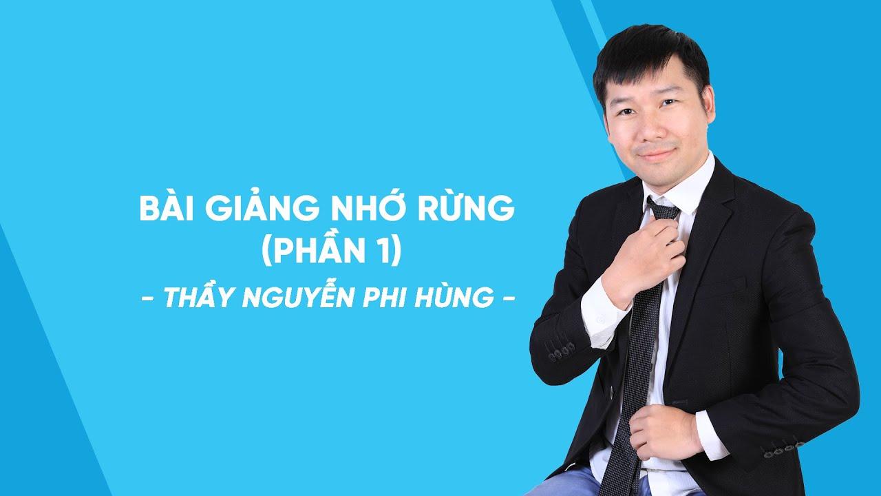 Bài giảng Nhớ rừng (phần 1)- Ngữ văn lớp 8 – Thầy Nguyễn Phi Hùng – HOCMAI