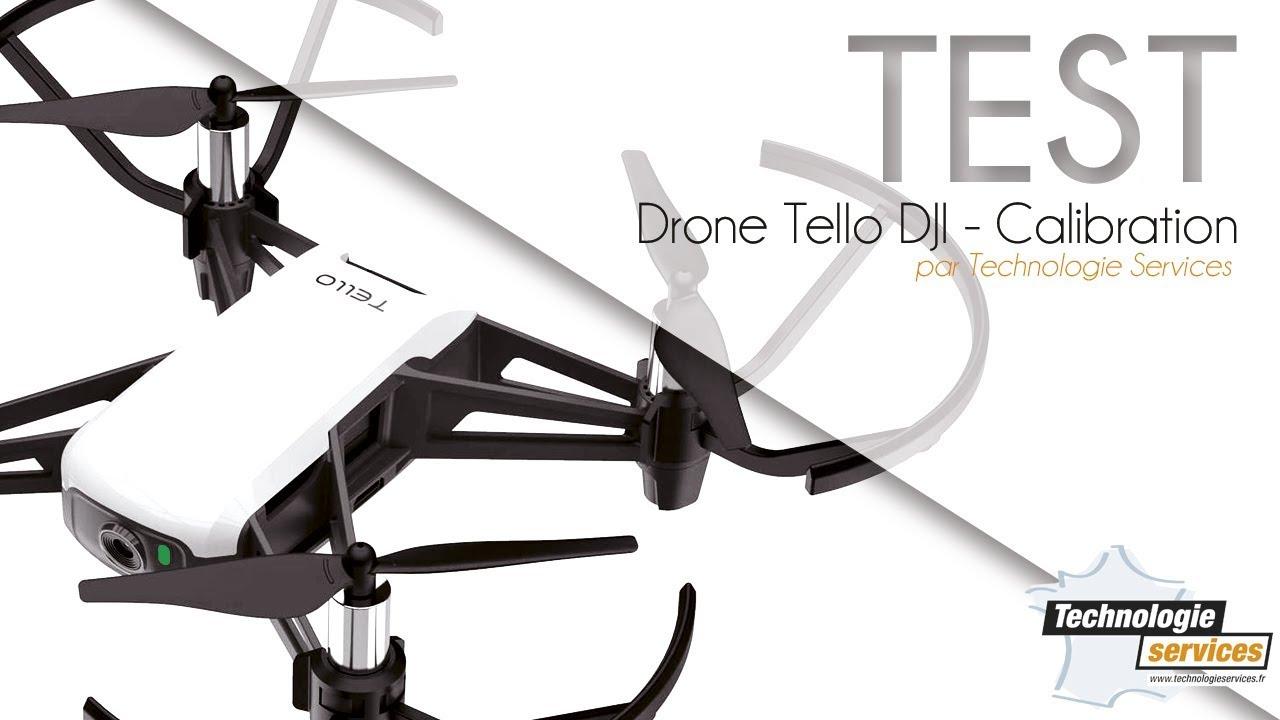 Drone Tello DJI programmable scratch - Calibration