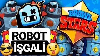 BU NASIL TEAM?! - ROBOT İŞGALİ - Brawl Stars