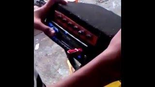 Trinidad music on bike