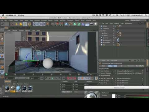 Cinema 4D Tutorial - Part 1camera calibration