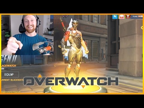 BLACKWATCH GENJI Loot Boxes & New Uprising Overwatch Gameplay #26