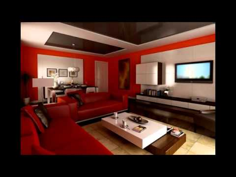 Living Room Color Schemes Brown Leather Furniture Pictures Of Interior Decorated Rooms Ideas With Youtube